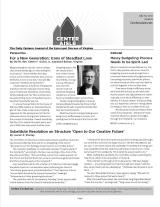 Issue 6: Gulick, Budgeting, Structure