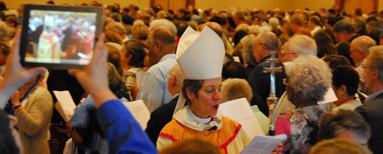 GC worship PB Katharine Jefferts Schori