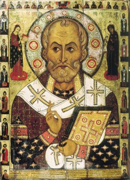 Nicholas of Myra and the Council of Nicaea.