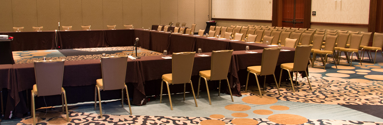 Empty Conference_wide